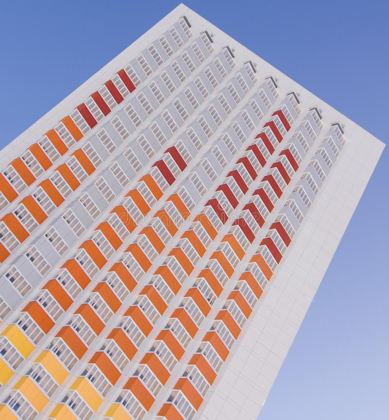Edificio-equalizador imagen de archivo