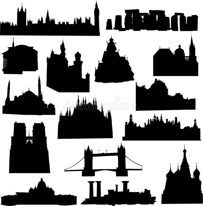 Edificio europeo libre illustration
