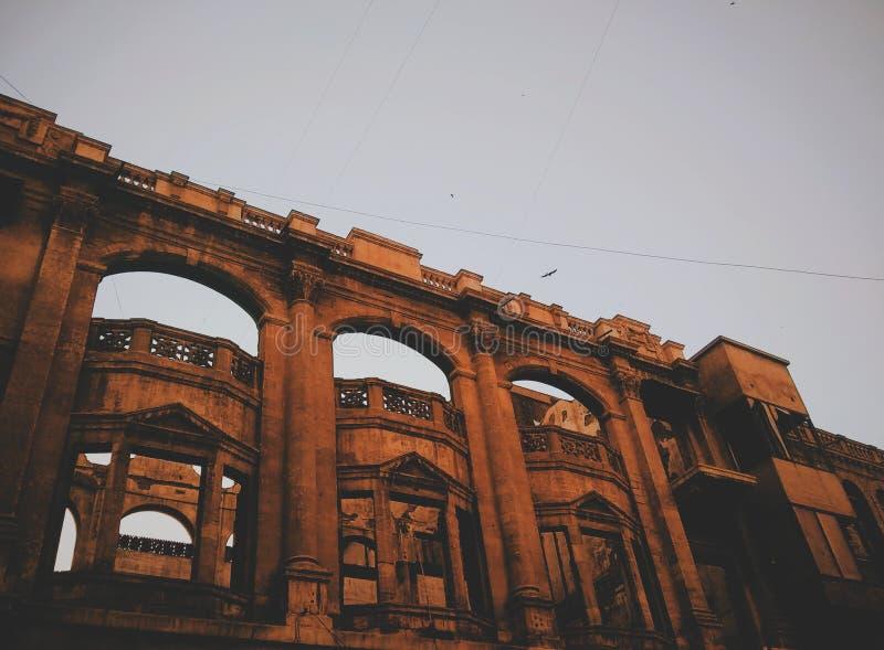 Edificio europeo del estilo imagen de archivo