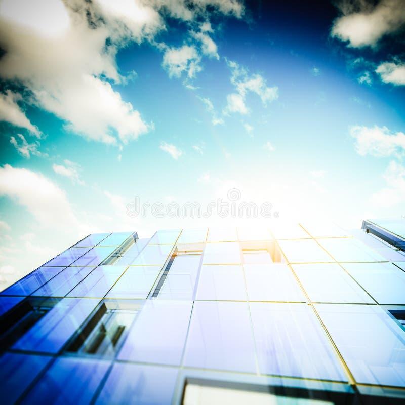 Download Edificio futurista stock de ilustración. Ilustración de rascacielos - 42439854