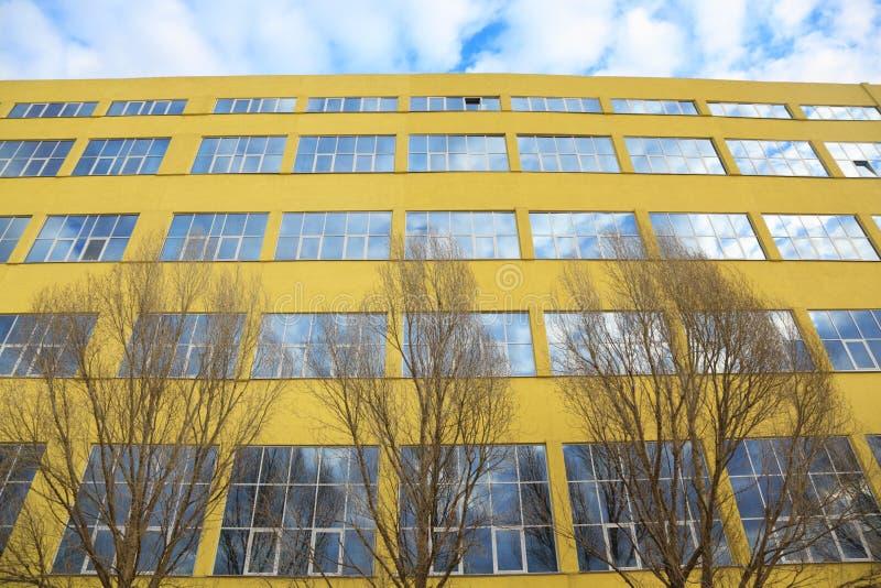 Edificio grande imágenes de archivo libres de regalías