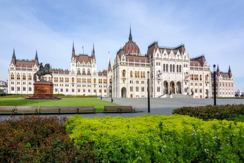 Edificio húngaro del parlamento, Budapest, Hungría imagen de archivo