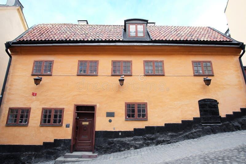 Edificio habitado antiguo fotografía de archivo libre de regalías