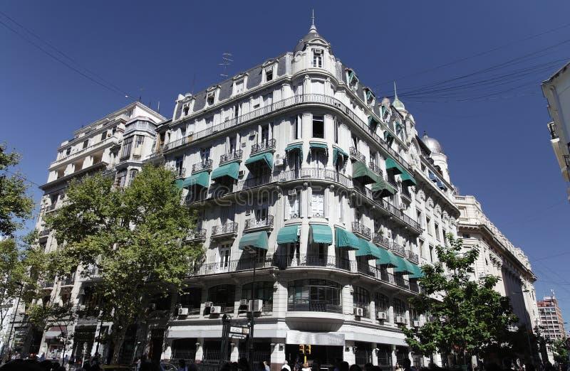 Edificio histórico - Buenos Aires fotos de archivo