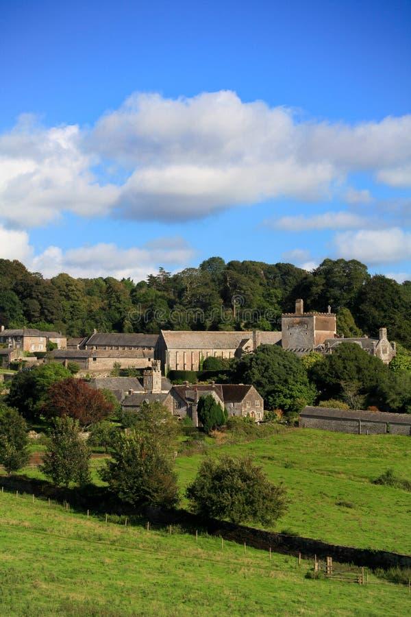 Edificio histórico de la abadía de Buckland en Devon imágenes de archivo libres de regalías