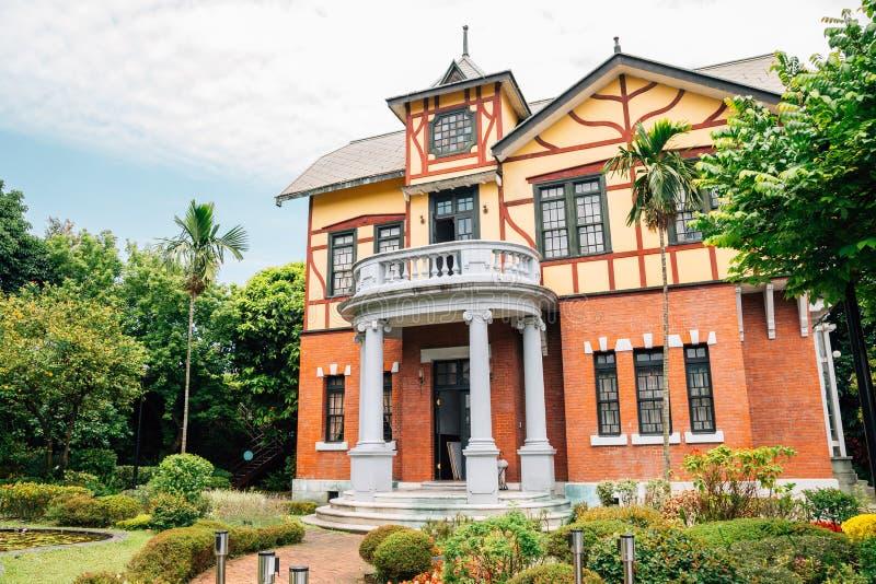 Edificio histórico de la casa de la historia de Taipei en Taiwán fotos de archivo libres de regalías