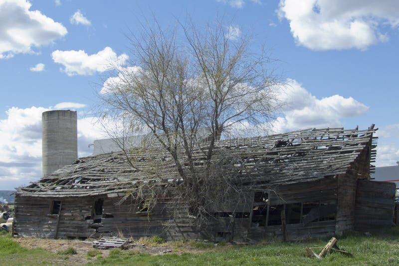 Edificio histórico de la granja lechera de la cárcel imágenes de archivo libres de regalías
