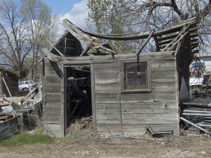 Edificio histórico de la granja lechera de la cárcel fotografía de archivo libre de regalías