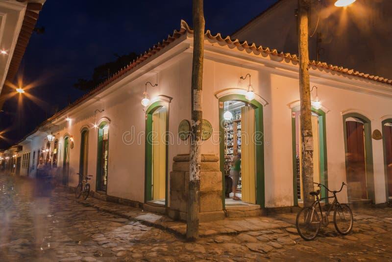 Edificio histórico de Paraty foto de archivo