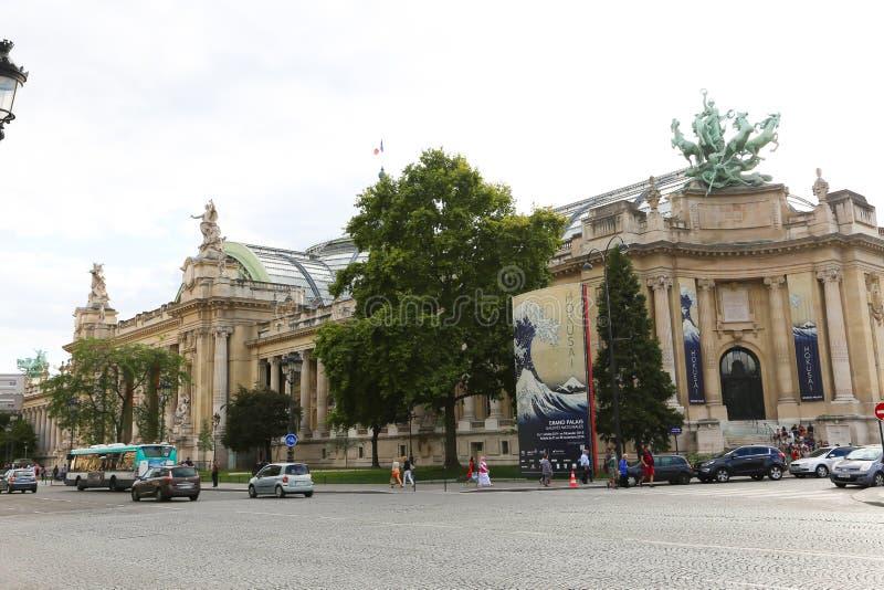Edificio histórico en París fotos de archivo libres de regalías