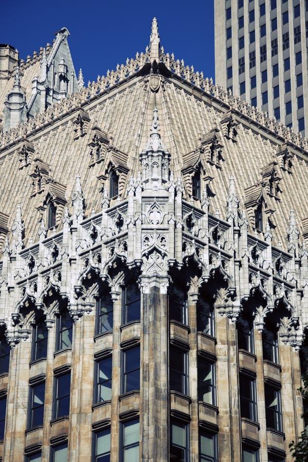 Edificio histórico en Pittsburgh imagen de archivo libre de regalías