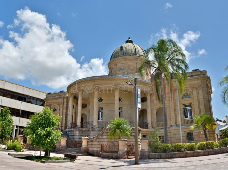 Edificio histórico en Rockhampton, Australia imágenes de archivo libres de regalías
