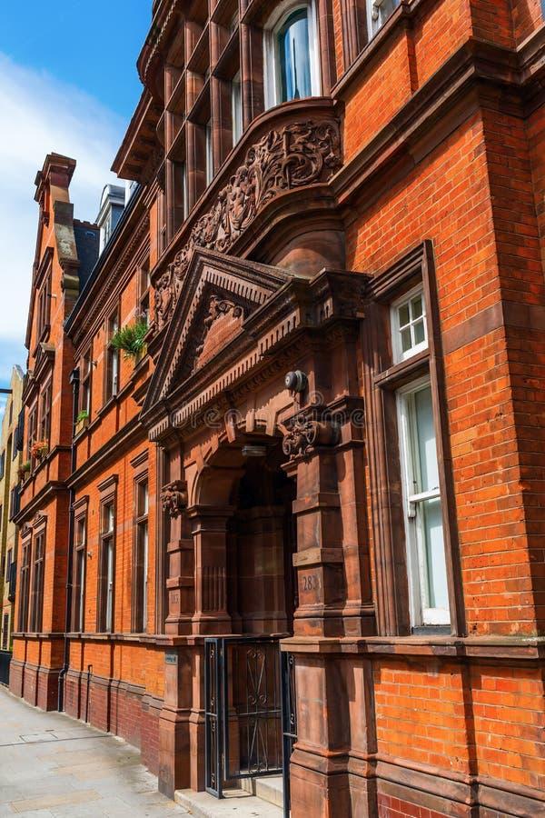 Edificio histórico en Soutwark, Londres, Reino Unido fotografía de archivo libre de regalías