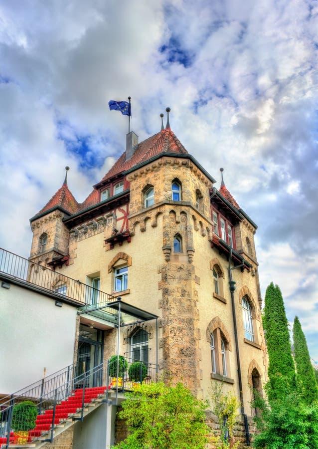 Edificio histórico en Tubinga - Baden Wurttemberg, Alemania imagen de archivo libre de regalías