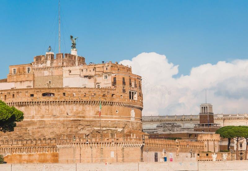 Edificio hist?rico en Roma Italia fotos de archivo