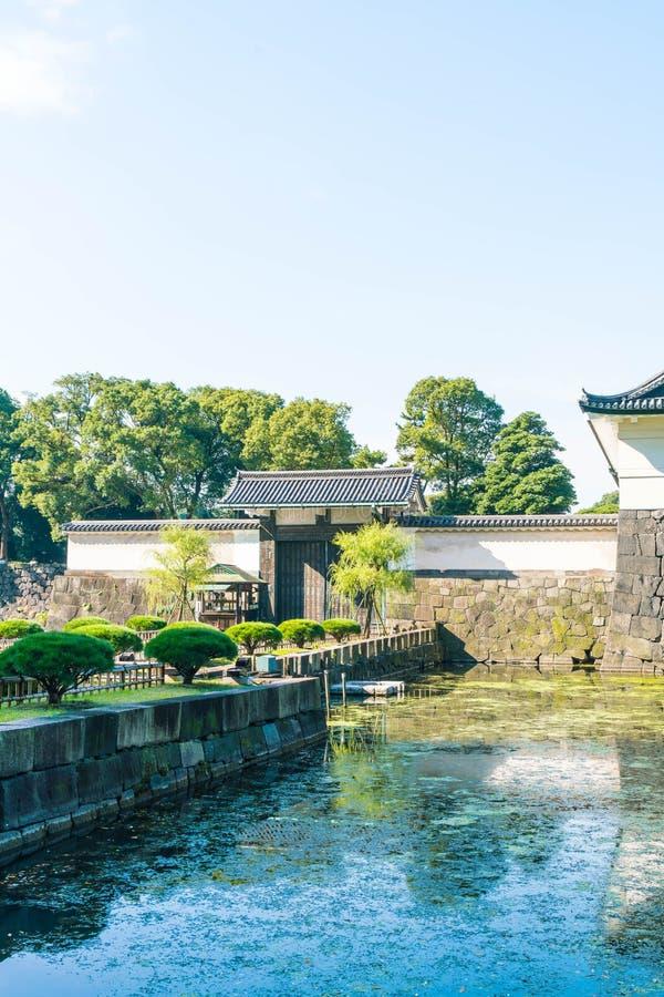 Edificio imperial hermoso del palacio en Tokio foto de archivo libre de regalías