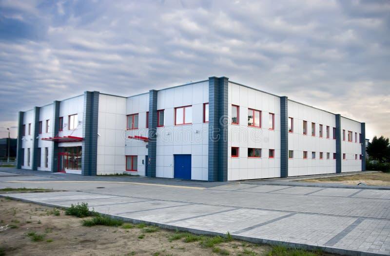 Edificio industrial fotos de archivo libres de regalías