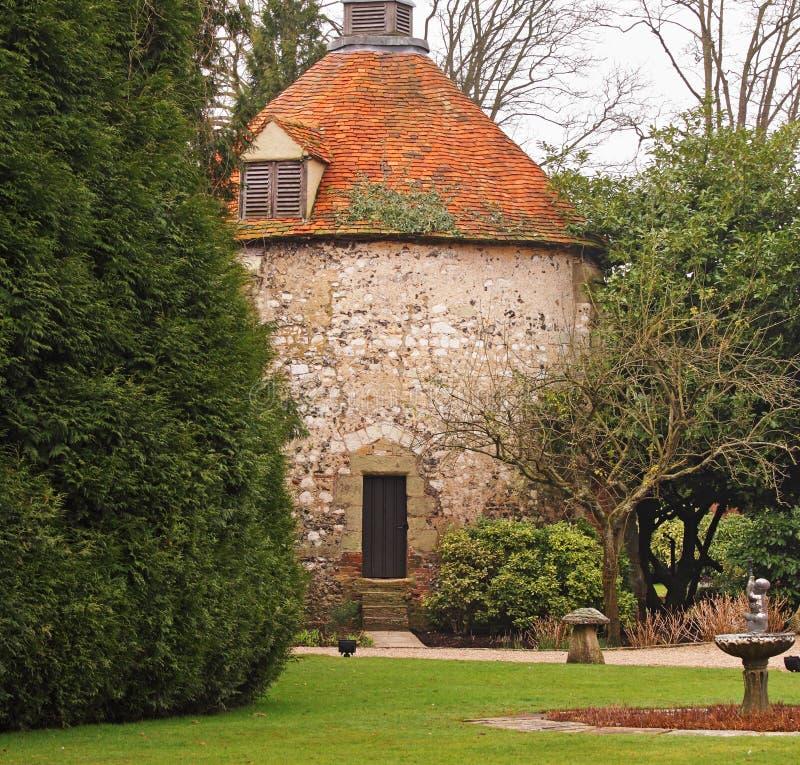 Edificio inglés medieval foto de archivo