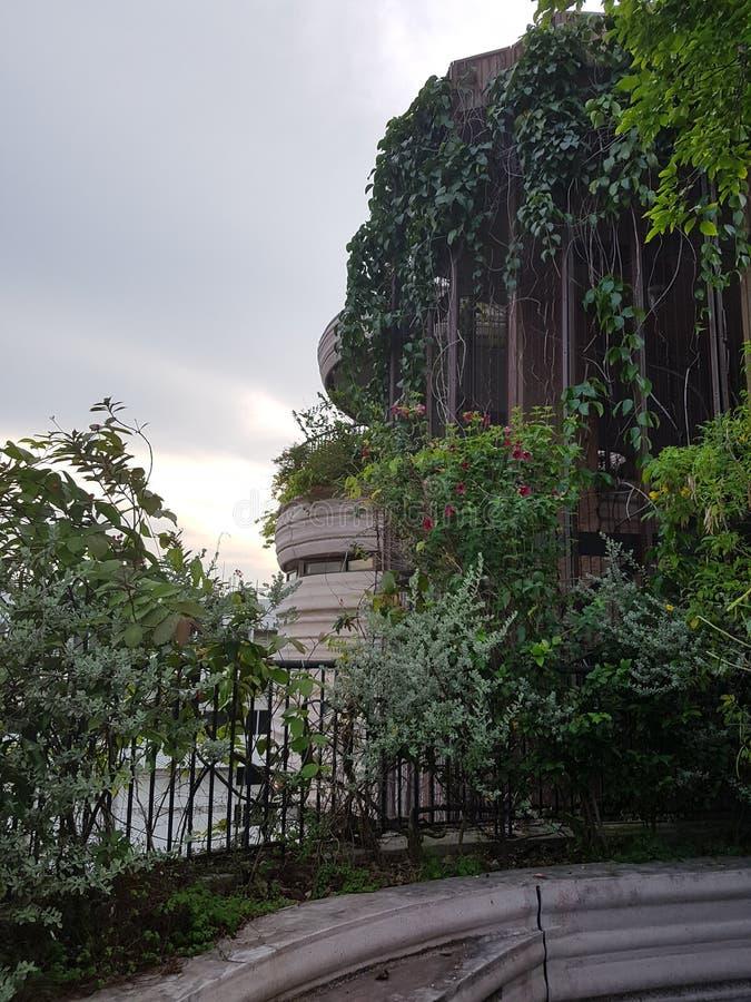 Edificio inusitado imágenes de archivo libres de regalías