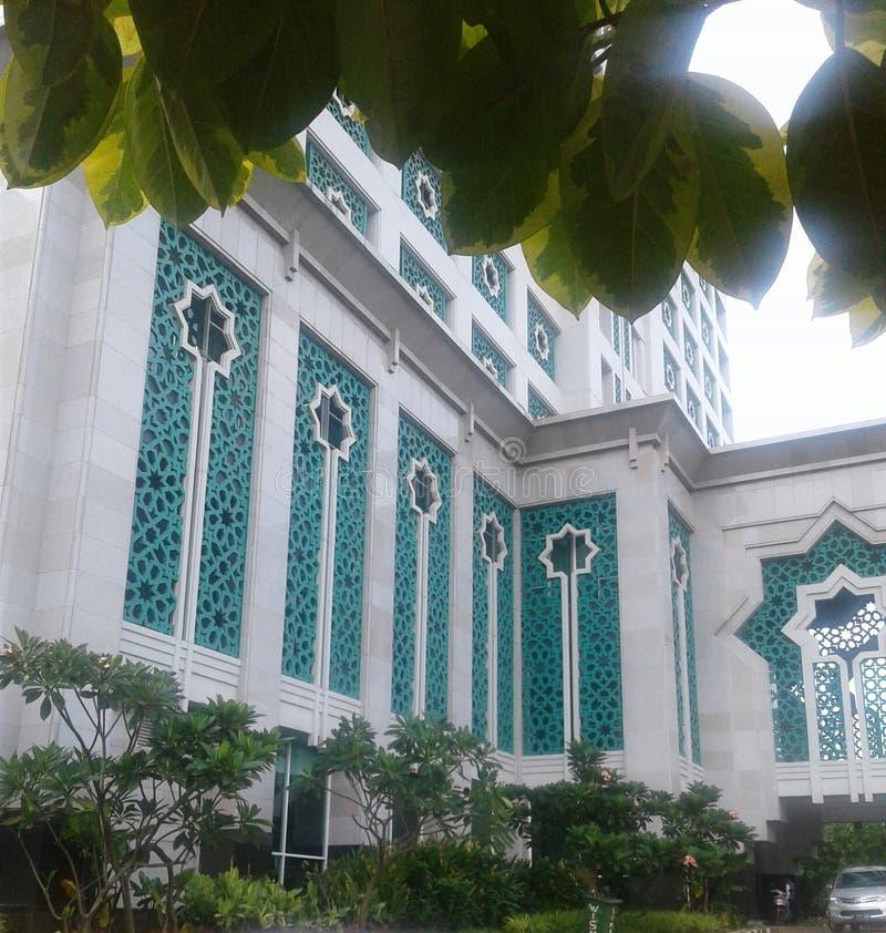 Edificio islámico fotografía de archivo libre de regalías