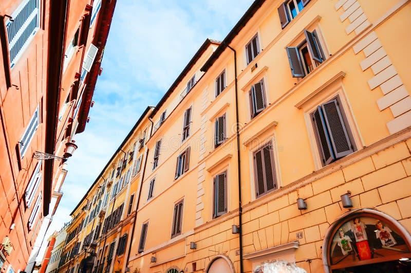 Edificio italiano, Roma, Lazio, Italia fotos de archivo libres de regalías