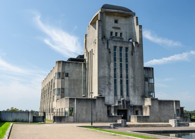 Edificio Kootwijk de radio imagen de archivo