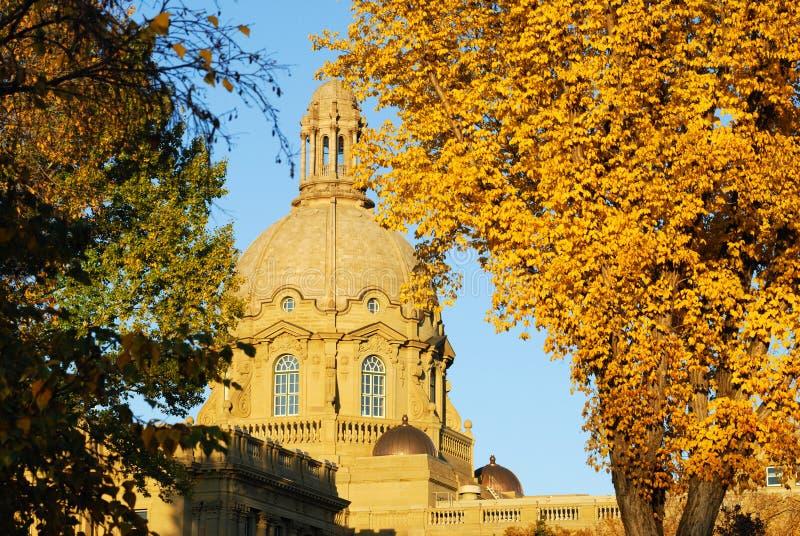 Edificio legislativo de Alberta fotografía de archivo