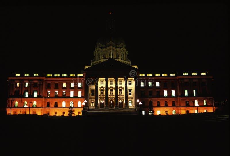 Edificio Legislativo De Alberta Fotos de archivo