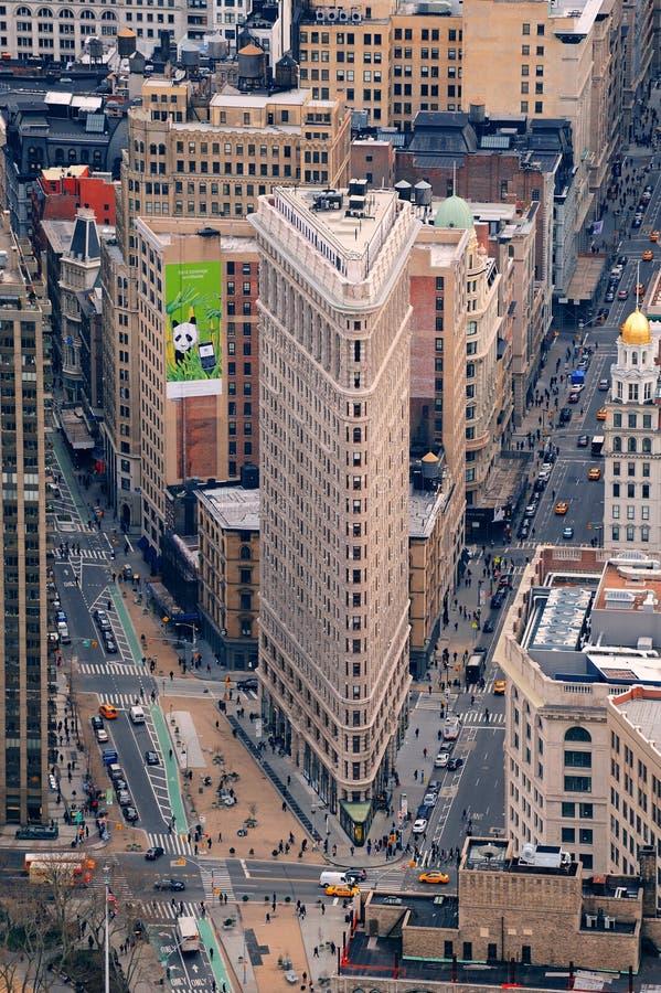 Edificio Manhattan New York City de Flatiron fotos de archivo