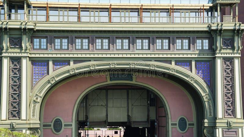 Edificio marítimo de la batería en Nueva York imagenes de archivo