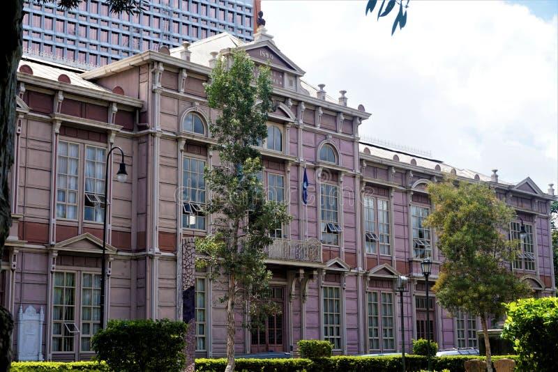Edificio Metalico -一个守旧派在圣何塞的中心 免版税图库摄影