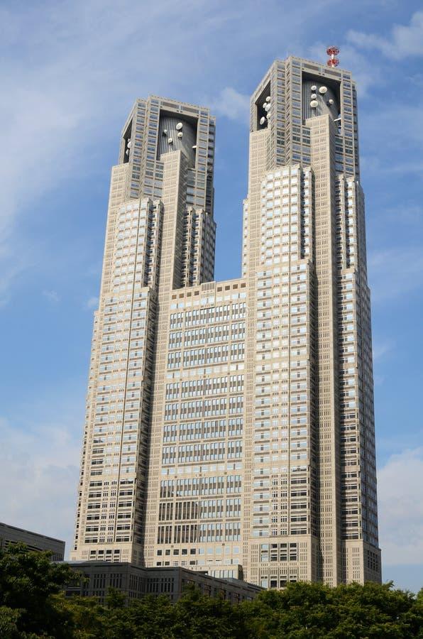 Edificio metropolitana del gobierno de Tokio foto de archivo libre de regalías