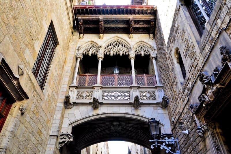 Edificio modernista - Barcelona España royaltyfria bilder