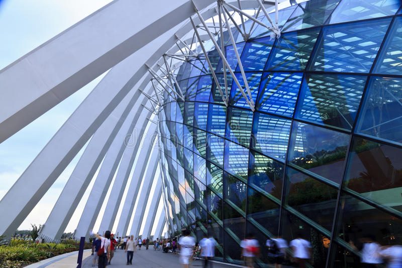 Edificio moderno de la configuración fotografía de archivo libre de regalías