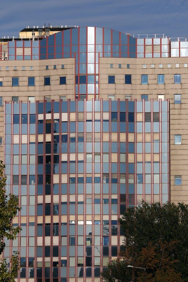 Edificio moderno de oficinas en Viena foto de archivo