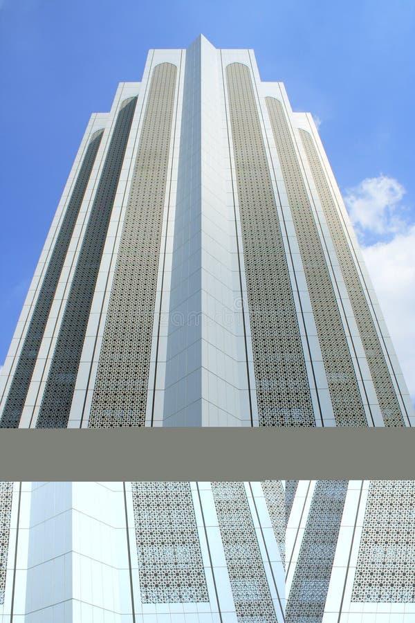 Edificio moderno del Islam fotografía de archivo