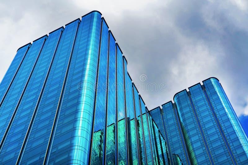 Edificio moderno del Times Square en el distrito financiero Ho Chi Minh imagen de archivo libre de regalías