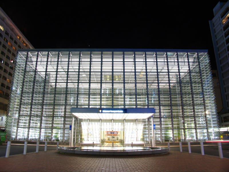 Edificio moderno en Auckland foto de archivo libre de regalías