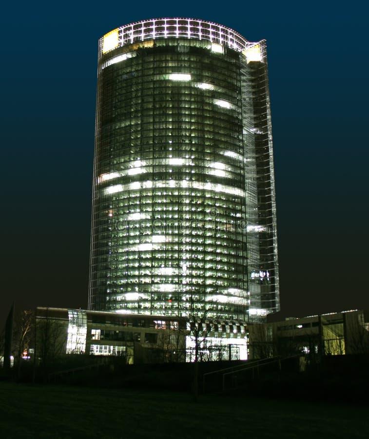 Edificio moderno en Bonn imagenes de archivo