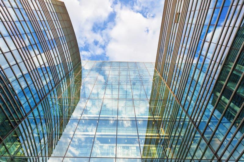 Edificio moderno en Bruselas, Bélgica imagen de archivo libre de regalías