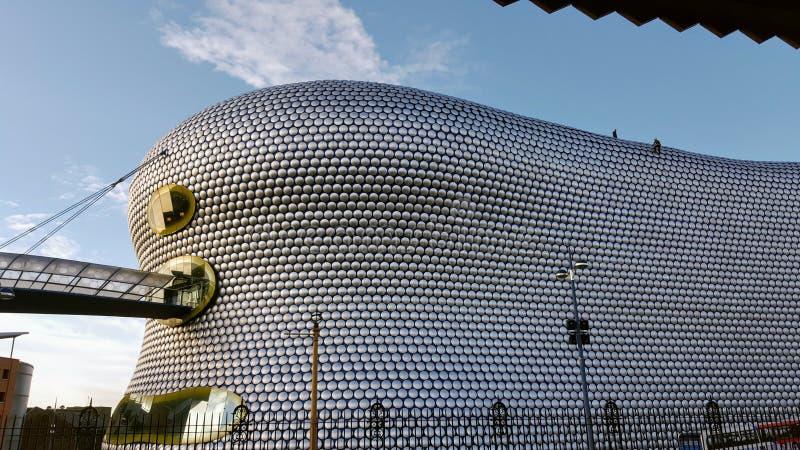 Edificio moderno en la ciudad de Birmingham imagen de archivo libre de regalías