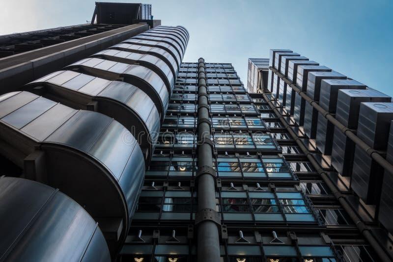Edificio moderno en Londres foto de archivo libre de regalías