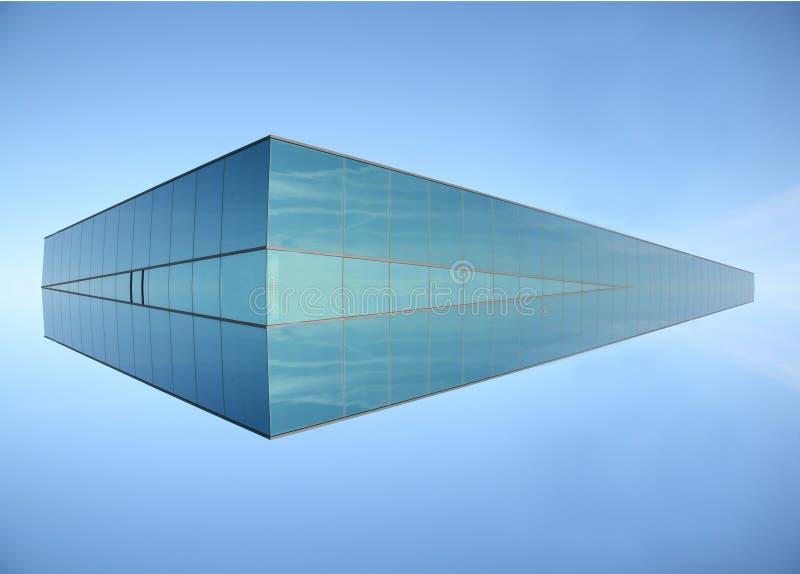 Edificio moderno imaginario imagen de archivo