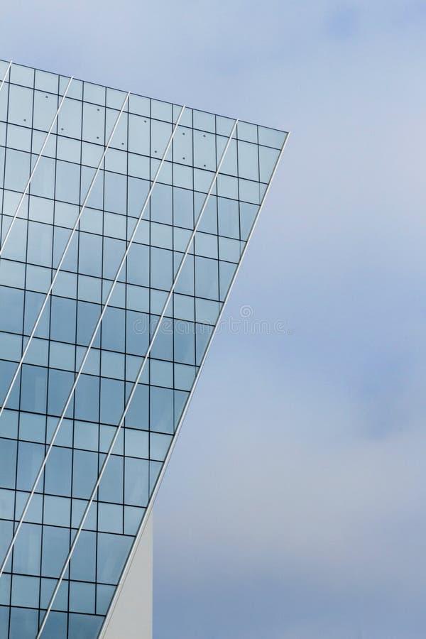 Edificio moderno mínimo imagen de archivo libre de regalías
