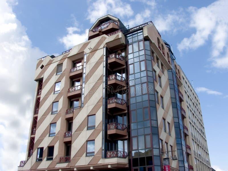 Edificio moderno, urbano. fotos de archivo