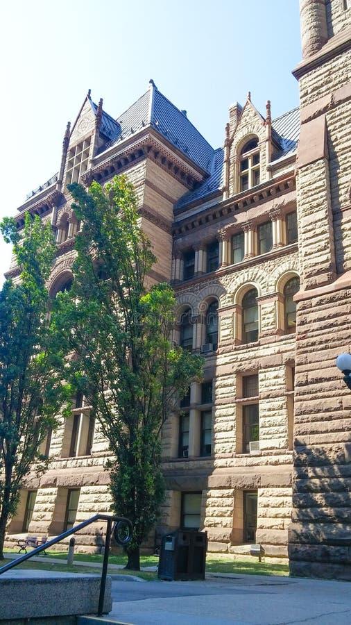 Edificio municipal de Toronto imagenes de archivo