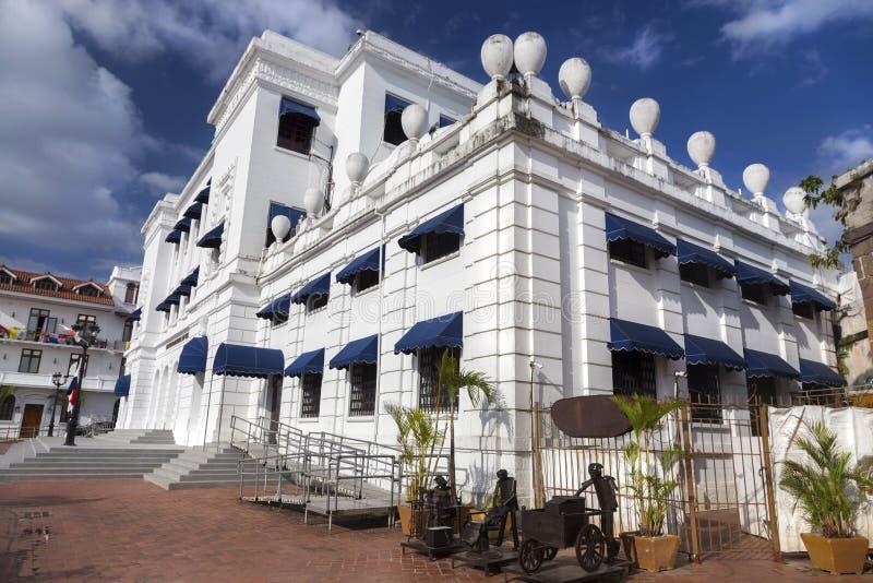 Edificio nacional Casco Viejo ciudad de Panamá del instituto de la cultura imagenes de archivo