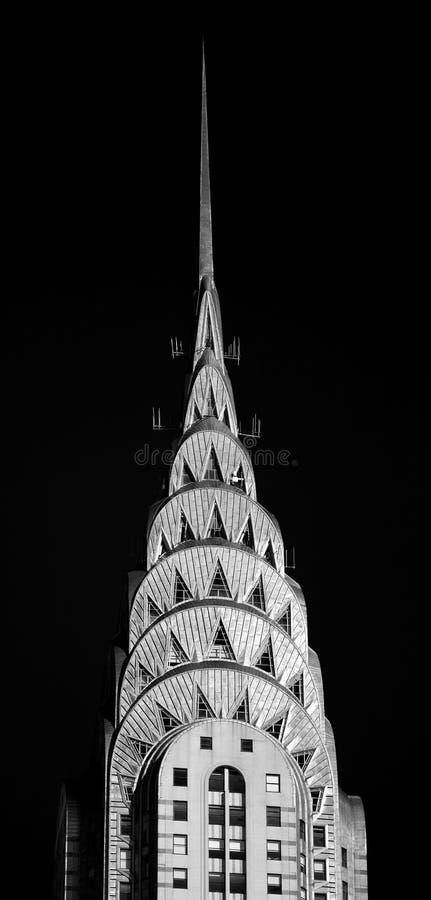 Edificio Nueva York de Chrysler fotografía de archivo libre de regalías