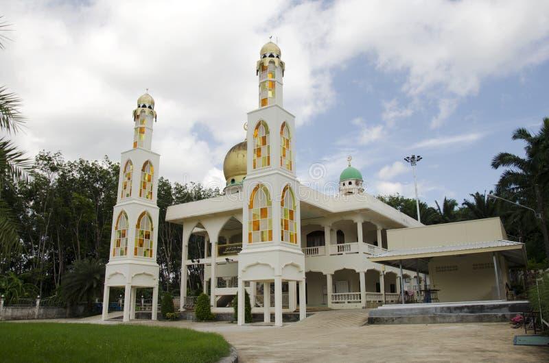 Edificio Pak Cheed Masjid o Miftahul oficialmente llamado Mumineen fotos de archivo libres de regalías