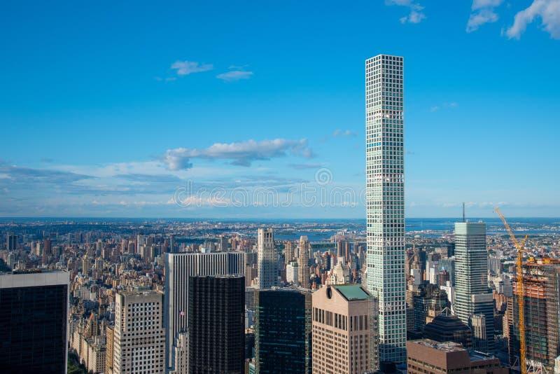 Edificio 432 Park Avenue en Manhattan (NYC, EE.UU. fotografía de archivo libre de regalías